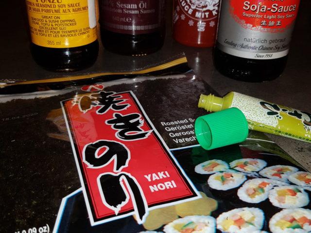 Zubehör für Sushi